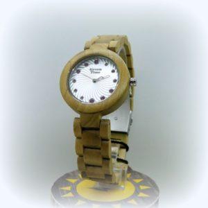 orologio donna in legno
