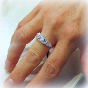 ANELLO GOCCIE IN ARGENTO 925 BYBLOS JEWELS