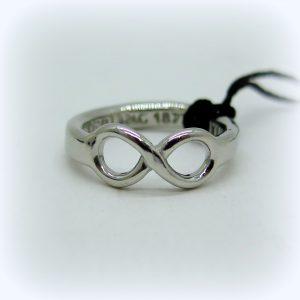 anello infinito in argento 925