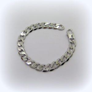 Bracciale uomo groumette in argento 925